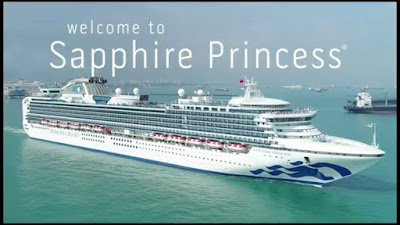 Sapphire Princess called at New York as part of a New England Canada cruise