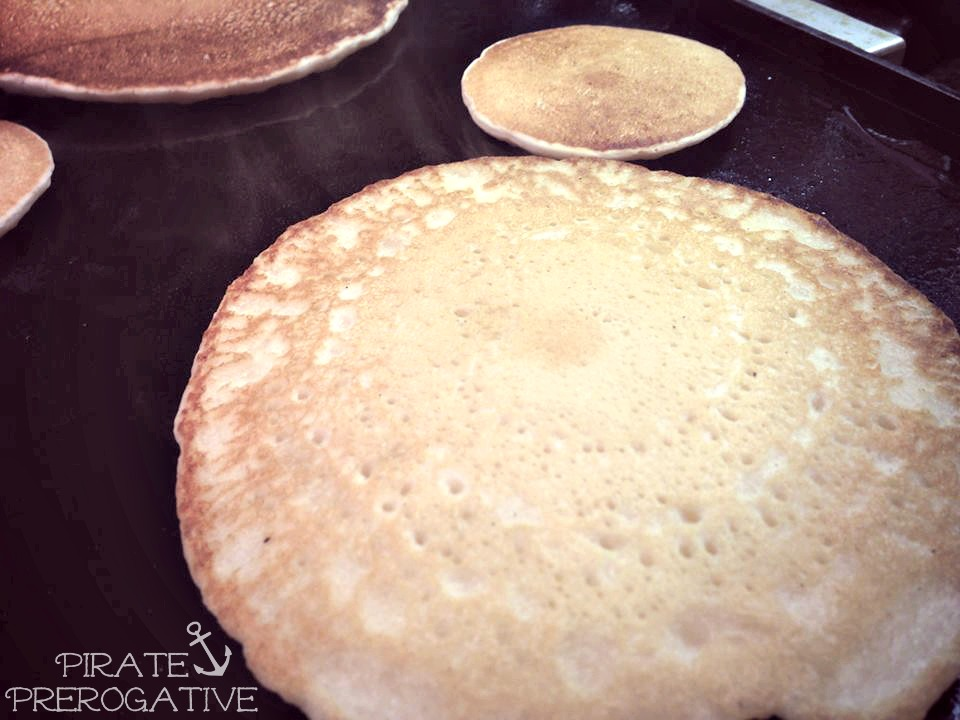Pirate Prerogative Ultimate Vegan Pancakes