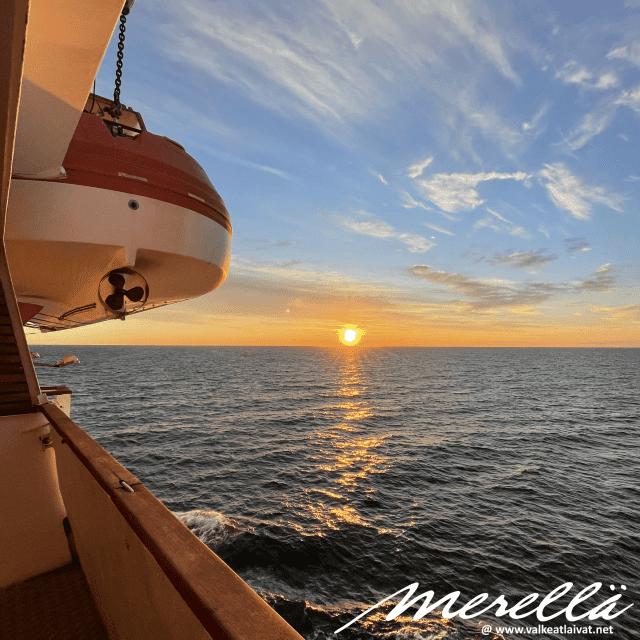 Silja Line Merellä