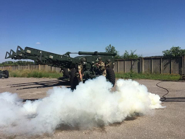 S-125 được triển khai trên các tháp pháo cố định