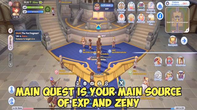 ragnarok x next generation main quest
