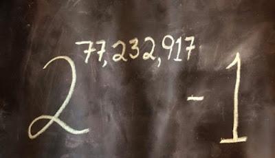 Inilah Bilangan Prima Terbesar Baru Memiliki 23 Juta Digit