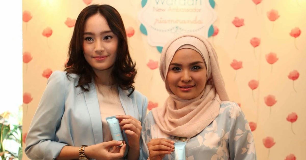 Brand Ambassador Wardah Cosmetics Terbaru: Ria Miranda & Tatjana ...