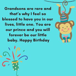 birthday wishes for grandson 3rd birthday