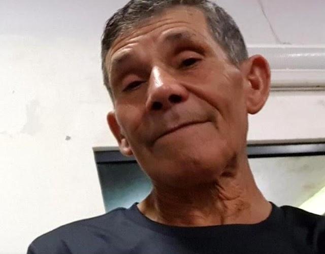 Aparecido Pereira está desaparecido