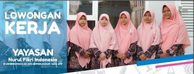 Lowongan Staff Pengajar Guru KB/ TK TKIT Nurul Fikri Pati