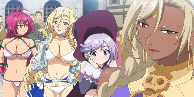 rekomendasi anime ecchi Bikini Warriors (OVA)