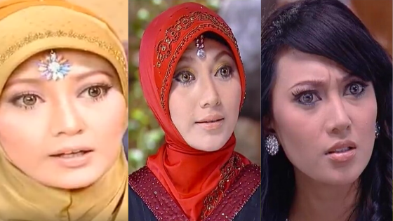 Vista Putri: Si Ummi Salma, Ummi Najwa, dan Amih Ratna di Sinetron Inayah