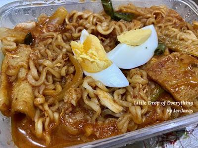 Tteokbokki with Noodles - Wahmderous Moments