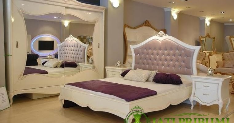 Mebel Jati Jepara Set Tempat Tidur Minimalis Furniture