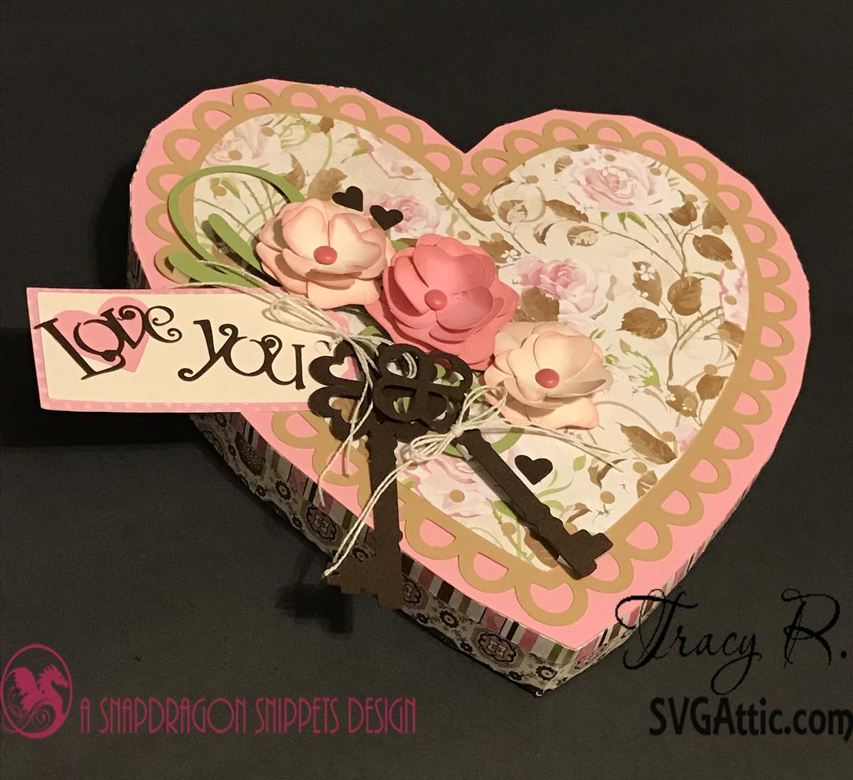 SVG Attic Blog: Valentine Heart Box