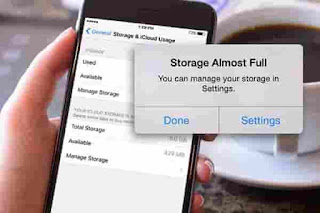 How to increase iphone storages free