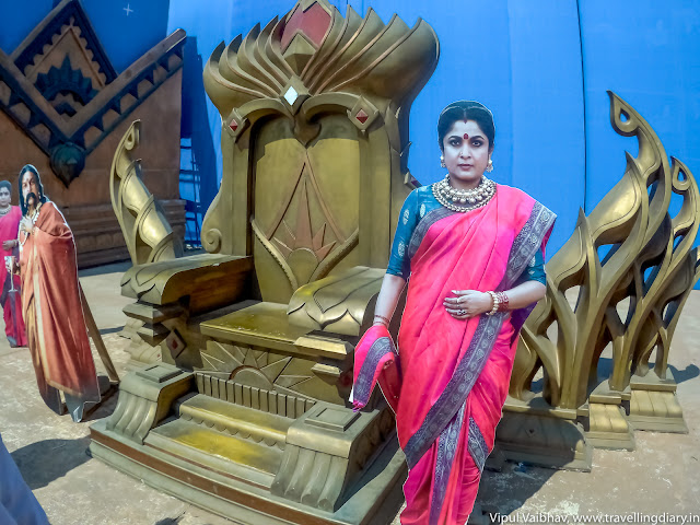 sivagami's throne set