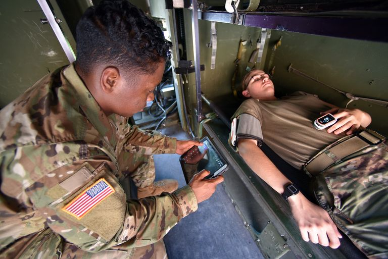 The U.S. Army Wants Wearable Tech That Detects COVID-19