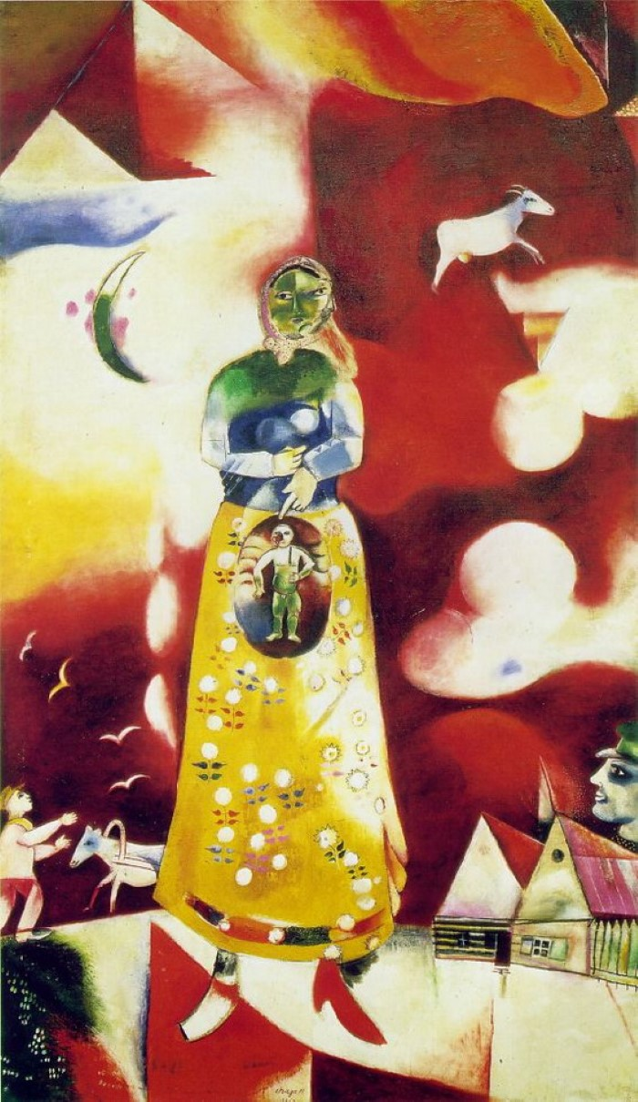 1913 г. Марк Шагал