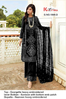 Khayyira Eleonora pakistani Suits