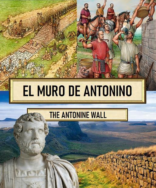 El muro más al norte del muro de Adriano. Britania. El muro de Septimio Severo