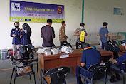 Capai Herd Immunity, Urkes Polres Serang Gelar Vaksin Presisis di PT. Indo Prima Perkasa