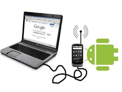 Smartphone untuk Tethering