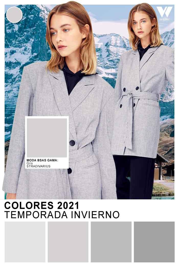 Grises otoño invierno 2021 colores de moda 2021