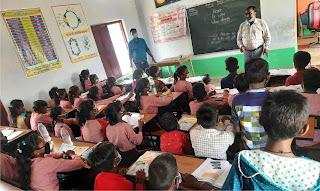 एआरपी टीम ने स्कूलों में चलाया अभियान  | #NayaSaberaNetwork