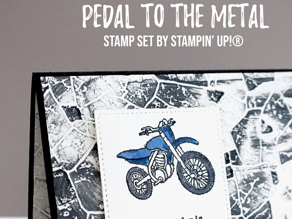 Pedal To the Metal with the Stone 3D embossing Folder
