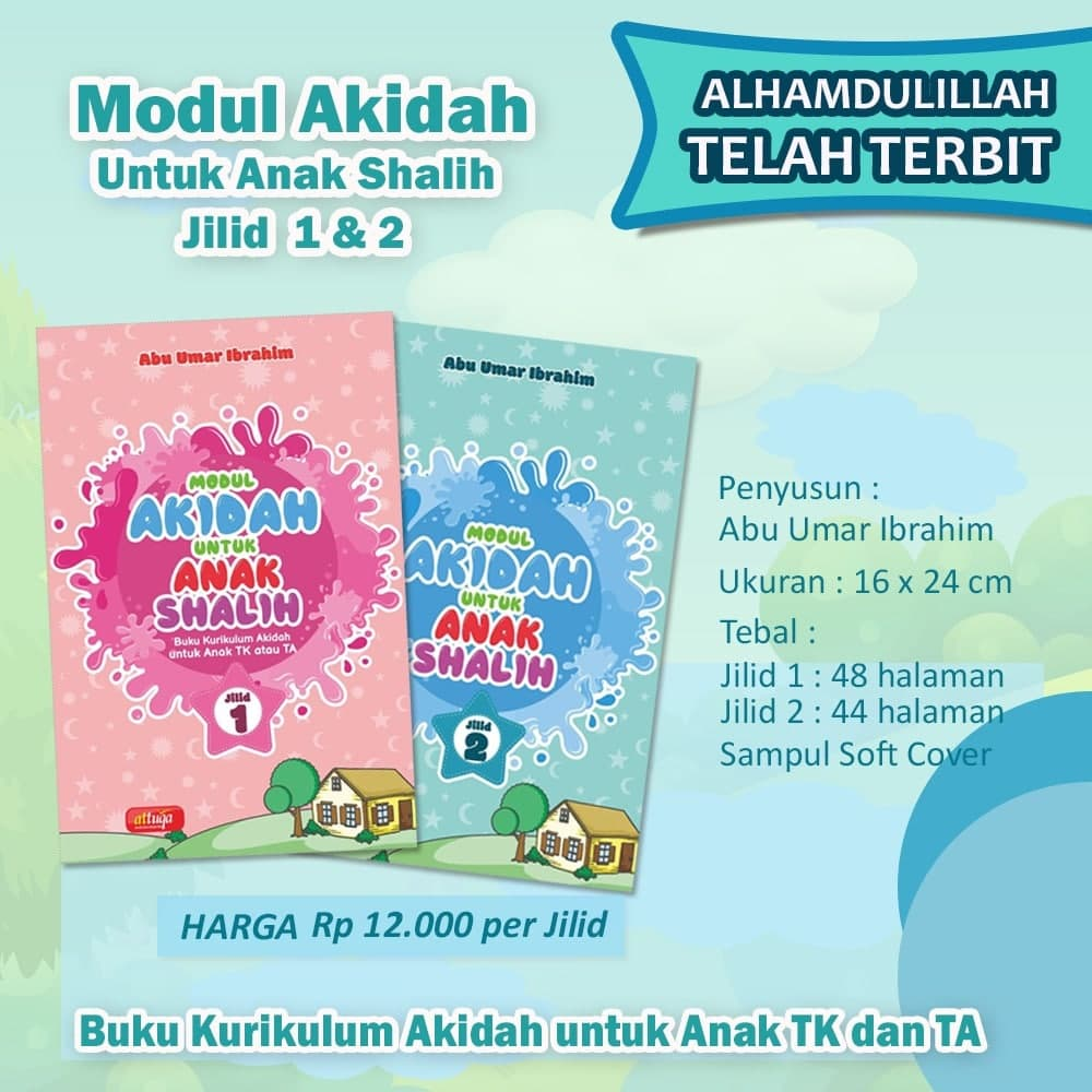 Buku Modul Akidah Untuk Anak Shalih Attuqa