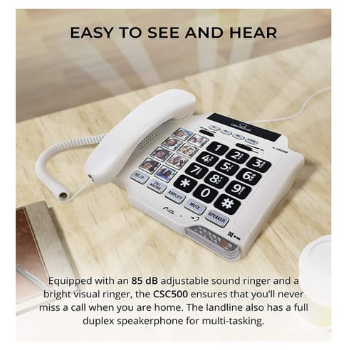 ClearSounds CSC500 Amplified Landline Phone