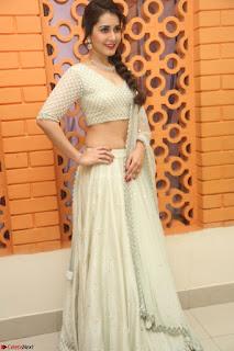 Raashi Khanan looks stunning in Crop Top Deep neck Choli Ghagra Transparent Chunni WOW ~  Exclusive Celebrities Galleries 039.JPG