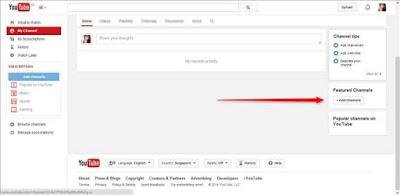 Membuat Channel Atau Saluran Di Youtube
