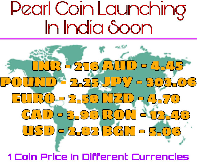 Pearl Coin Launching Soon In India