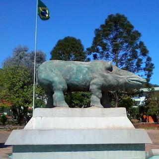 Monumento de Anta Gorda, em Anta Gorda, RS