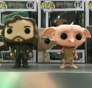 Funko Pop Sirius Black e Dobby