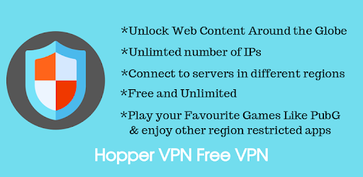 Hopper VPN Hotspot v1.4 Pro APK