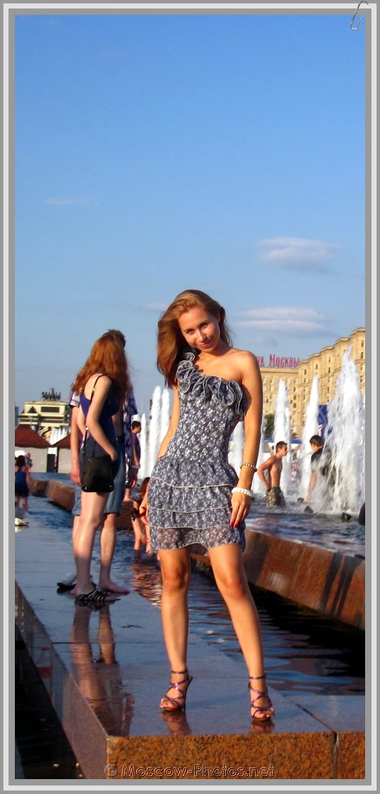 Moscow Girls and Hot Summer