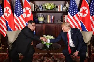 Donald Trump Kim Jung-un