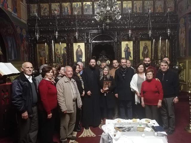 Ήγουμενίτσα: Τη Βασιλόπιτα έκοψε η Σχολή Βυζαντινής Μουσικής του ναού Ευαγγελισμού Θεοτόκου Ηγουμενίτσας