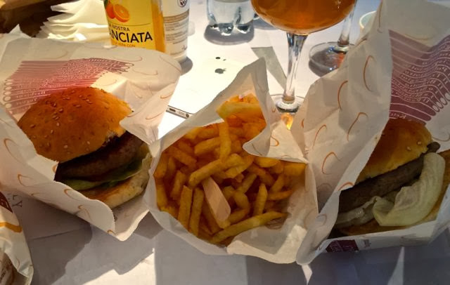 Hamburgers in Rome