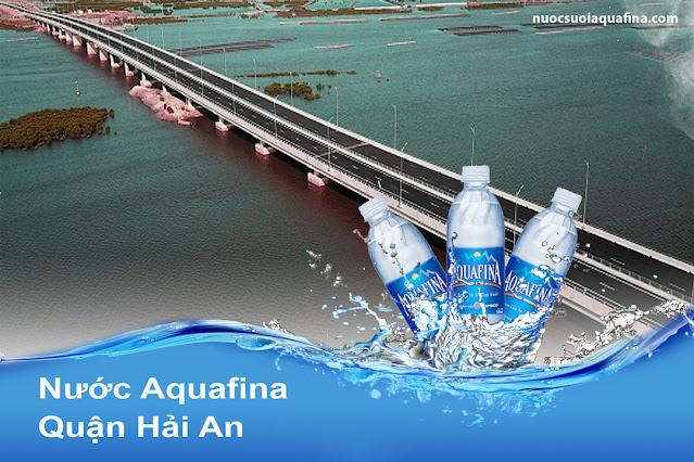 đại lý nước aquafina quận Hải An