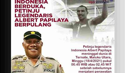 Albert Papilaya Hembus Nafas Terakhir, Eks Atlet Tinju Indonesia Berprestasi