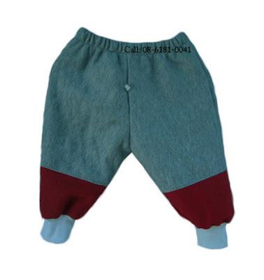 กางเกงกันหนาวเด็กเล็ก