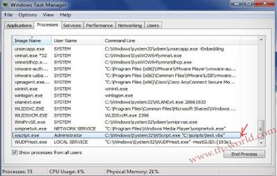 Administrator-Wscript-TaskManager