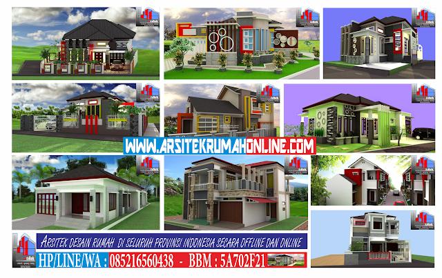 Jasa Desain Rumah Minimalis, Classic, Mediterania dan Berbagai Jenis Type Rumah Yang Lainnya