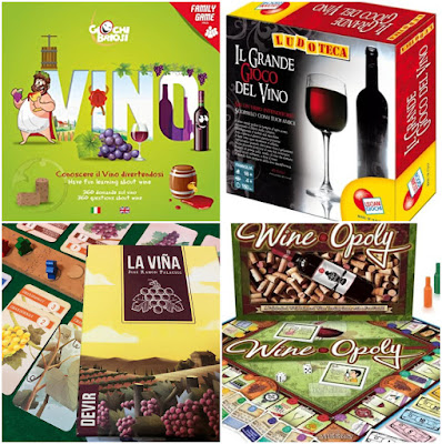 giochi a tema vino