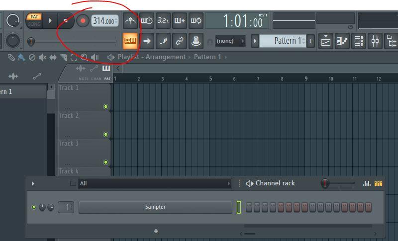 Tempo BPM Fl Studio