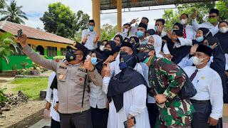 Tinjau Vaksinasi di Madina, Kapolda Sumut Ucapkan Terimakasih untuk Masyarakat