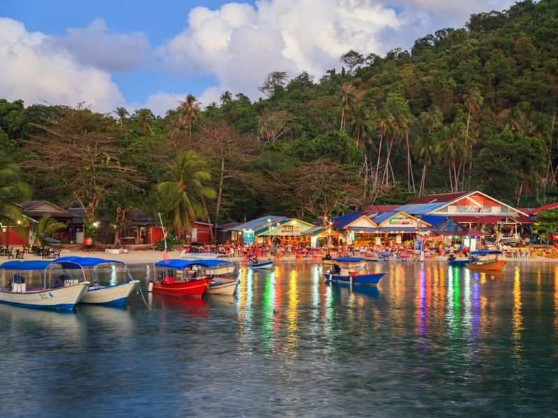 jetty of perhentian island