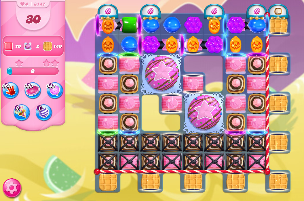 Candy Crush Saga level 8147