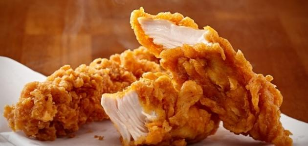 طريقة تحضير دجاج الكنتاكي على اصوله