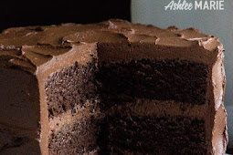 PERFECT CHOCOLATE CAKE RECIPE WITH GANCHE BUTTERCREAM- RICH, DENSE AND DELICIOUS